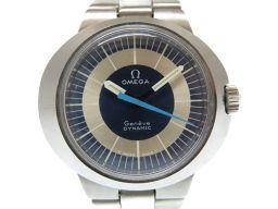 オメガOMEGA ダイナミック 腕時計 ステンレススチール/ステンレススチール ブルー 0495 レディース