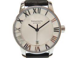ティファニーTIFFANY&Co. アトラスドーム Z1830.68.10A2150A 腕時計 ステンレススチール/レザー/ステンレススチール シルバー 0358 レディース