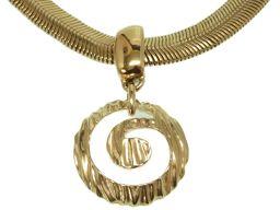 ジバンシィGIVENCHY チェーン ヴィンテージ ネックレス メタル/メタル ゴールド 0167 レディース