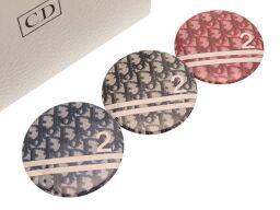 クリスチャンディオールChristian Dior トロッター柄 3色 3点セット ノベルティ その他小物 メタル/メタル レッド 0124 レディース