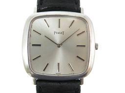 ピアジェPIAGET 手巻き 金無垢 9773 腕時計 K18ホワイトゴールド/K18ホワイトゴールド シルバー 0074 メンズ