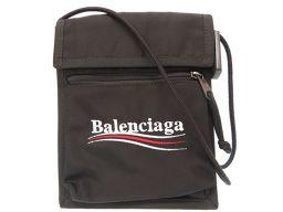 バレンシアガBALENCIAGA サコッシュ エクスプローラー ショルダーバッグ イカットナイロンキャンバス/イカットナイロンキャンバス ブラック 0180 メンズ