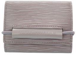 LVLOUIS VUITTON ポルトモネエラスティック エピ M6366B 三つ折り財布 エピレザー/エピレザー ライラック 0125 ユニセックス