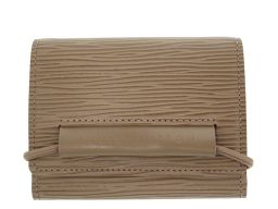 LVLOUIS VUITTON ポルトフォイユ エラスティック エピ M6346C 二つ折り財布 エピレザー/エピレザー ポワーブル 0131 レディース