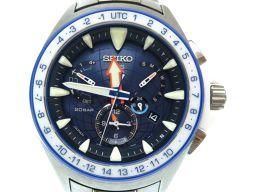 セイコーSEIKO オーシャンクルーザー プロスペックス マリーンマスター 白石康次郎スペシャルモデル  SBED001 腕時計 チタン/ステンレススチール/ステンレススチール シルバー 0106 メンズ