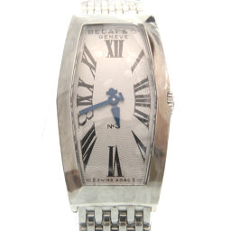 Beda & Company BEDAT & Co quartz No.3 386 watch stainless steel / stainless steel silver 0007 ladies