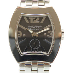 Beda & Company BEDAT & Co quartz concept B3 CB03 watch stainless steel / stainless steel black 0014 Ladies