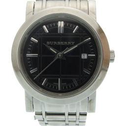 バーバリーBURBERRY クオーツ 腕時計 ステンレススチール/ステンレススチール ブラック 0026 レディース