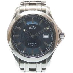 オメガOMEGA クオーツ シーマスター 120m 2511.81 腕時計 ステンレススチール/ステンレススチール ネイビー 0005 メンズ