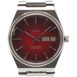 オメガOMEGA 自動巻き シーマスター レッドグラデーション 腕時計 ステンレススチール/ステンレススチール レッド 0090 メンズ