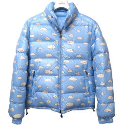 Moncler MONCLER reversible friends with you down jacket down jacket nylon / down / feather light blue 0161 men