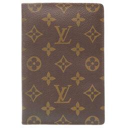 LVLOUIS VUITTON クーヴェルテュール パスポートケース モノグラム パスケース モノグラムキャンバス/モノグラムキャンバス ブラウン 0216 ユニセックス
