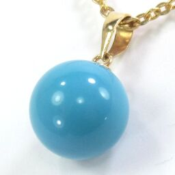 SELECT JEWELRY Pendant 1.0g K18 Artificial stone about 9.8mm Ladies [104]