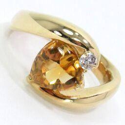<html>    <body>   SELECT JEWELRY リング・指輪 9.8g K18 シトリン ダイヤモンド0.08ct 11号 レディース【101】        </body> </html>