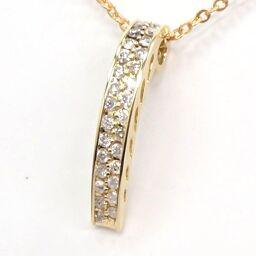 SELECT JEWELRY Pendant 2.4g K18 Diamond 0.50ct Ladies [011]