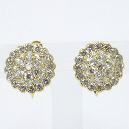 SELECT JEWELRY Diamond Earrings 8.5g K18 / Diamond 1.70 / 1.70ct Ladies [101]