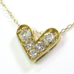 SELECT JEWELRY Necklace 2.1g K18 Diamond 0.50ct Ladies [101]