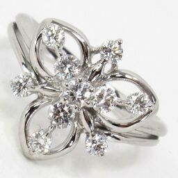 SELECT JEWELRY  ダイヤモンドファッション リング・指輪 4.8g K18WG ダイヤモンド0.50ct 10.5号 レディース【009】