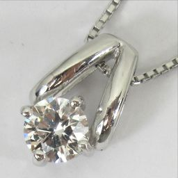 SELECT JEWELRY necklace 3.1g pt850 diamond 0.334ct women [905]
