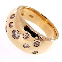 SELECT JEWELRY  リング・指輪 10.4g K18/ダイヤモンド ダイヤ 11号 レディース【105】
