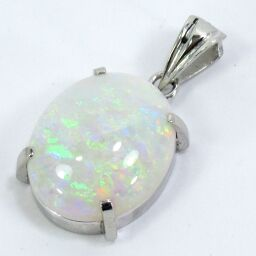 SELECT JEWELRY Pendant 3.2g Pt900 Opal Approximately 13.9mm x 11.7mm Ladies [106]