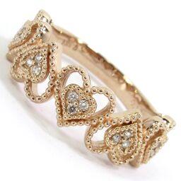 SELECT JEWELRY Ring / Ring 3.8g K18PG Diamond 0.12ct No. 12 Ladies [106]
