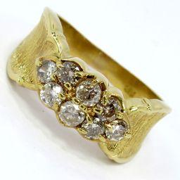 SELECT JEWELRY  リング・指輪 4.4g K18 ダイヤモンド0.73ct 12.5号 レディース【007】