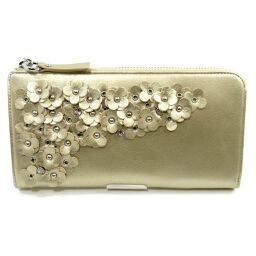 ANTEPRIMA 10214 Mazzet / L Round Long Wallet Long Wallet (with coin purse) 200g Leather Ladies [107]