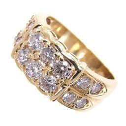 SELECT JEWELRY Ring / Ring 6.2g K18 / Diamond Diamond 1.06ct No. 11 Ladies [105]