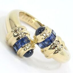 SELECT JEWELRY Ring / Ring 5.8g K18 Sapphire 0.79ct 9.5 Ladies [105]