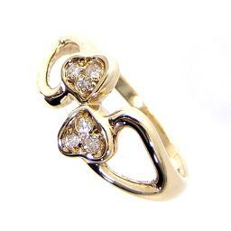 Dior ディオール ハートモチーフ リング・指輪 2.8g 750(K18)/ダイヤモンド ダイヤ 11号 レディース