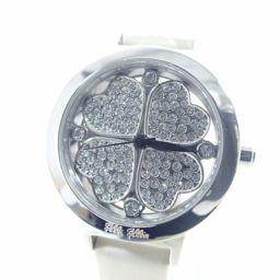 Folli Follie フォリフォリ WF2T005SS 腕時計 レザー/ステンレス/ラインストーン レディース