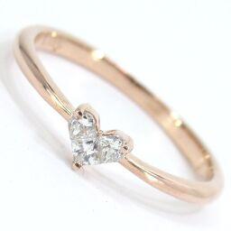 SELECT JEWELRY  リング・指輪 1.2g K10ピンクゴールド ダイヤモンド0.10ct 11号 レディース【104】