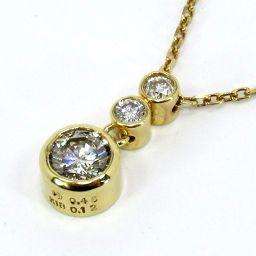TASAKI タサキ ネックレス 3.2g K18 ダイヤモンド0.46/0.12ct レディース【007】