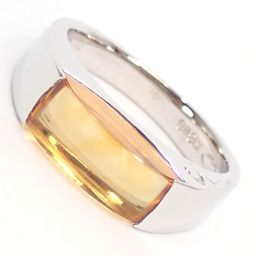 SELECT JEWELRY  リング・指輪 5.8g K18WG シトリン2.75ct 11号 レディース【007】