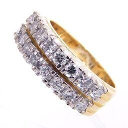 SELECT JEWELRY  リング・指輪 7.1g 750(K18)/18K/ダイヤモンド ダイヤ 10.5号 レディース【107】