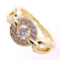 SELECT JEWELRY  リング・指輪 6.5g K18/ダイヤモンド ダイヤ0.30ct 11号 レディース【107】