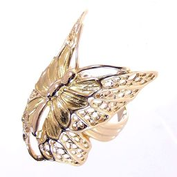 SELECT JEWELRY Butterfly / Butterfly motif ring · Ring 6.0 g K18 No. 15 Women's 【903】