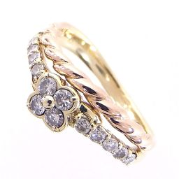 SELECT JEWELRY ring · ring 4.1 g K18 diamond 0.40ct 11 number ladies 【903】