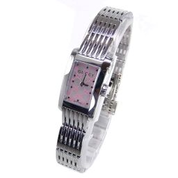 GUCCI Gucci 8600L G Metro Watch 42.5g Stainless Steel Ladies [109]