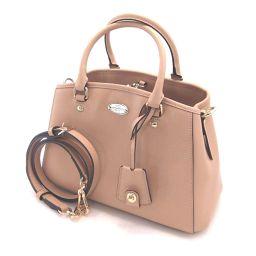COACH Coach F34835 2WAY Mini Margot Carryall Shoulder Bag Leather Ladies [002]