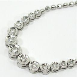 SELECT JEWELRY  ダイヤモンド ネックレス 13.8g pt850 ダイヤモンド0.50ct レディース【906】