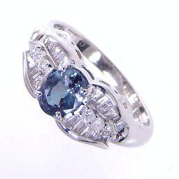 SELECT JEWELRY  リング・指輪 5.3g Pt900 アレキサンドライト0.678ct ダイヤ0.40ct 12号 レディース【901】