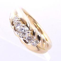 SELECT JEWELRY  リング・指輪 5.0g K18 ダイヤ0.30ct 8号 レディース【901】