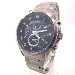 CITIZEN Citizen Eco-drive radio AT9080-57L watch stainless steel / sapphire glass men [001]