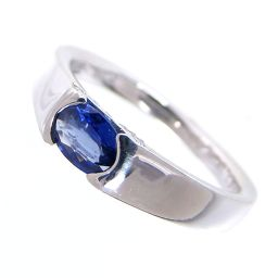 SELECT JEWELRY Ring / Ring 5.0g Pt900 Sapphire 0.45ct Diamond 0.06ct No.12 Ladies [002]