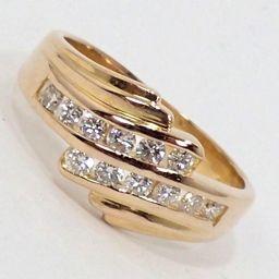 SELECT JEWELRY  リング・指輪 3.9g K18 ダイヤモンド0.36ct 10号 レディース【002】
