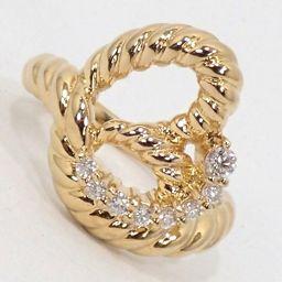 SELECT JEWELRY  リング・指輪 6.2g K18 ダイヤモンド0.19ct 10号 レディース【002】