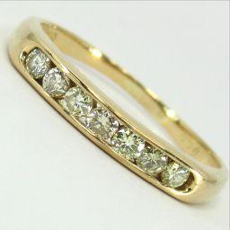 SELECT JEWELRY ring · ring 2g K18 diamond 0.30ct 15 ladies 【907】