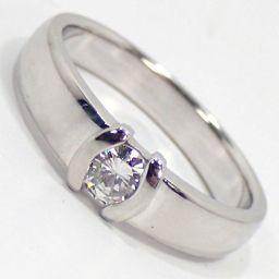 SELECT JEWELRY  リング・指輪 5.9g Pt900 ダイヤモンド0.22ct 10号 レディース【002】